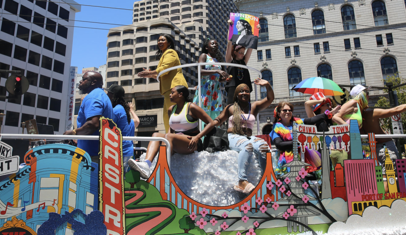 Mayor London Breed in previous Pride parade